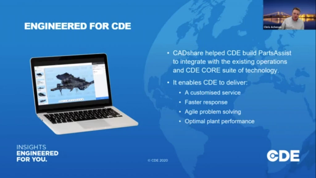 CDE Global digital transformation with CADshare
